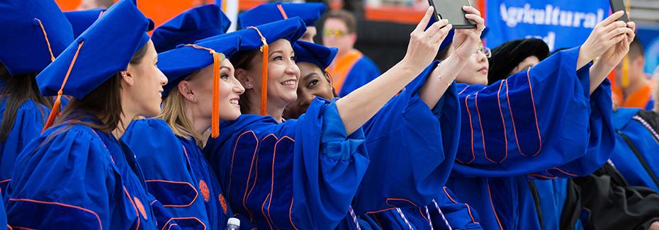 College of Nursing Ph.D. students at graduation