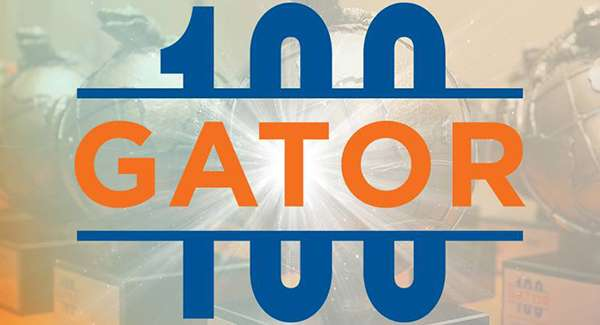 Gator100 graphic