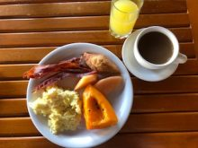 Grenadian breakfast