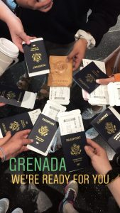 Grenada Study Abroad passports