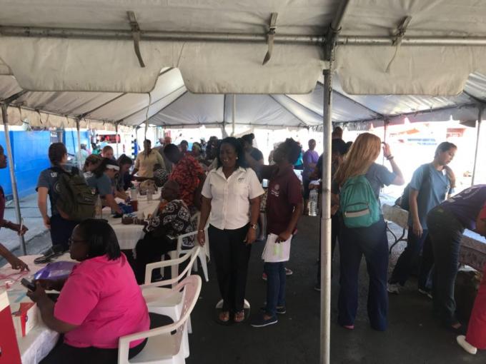 Grenada health fair