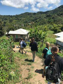 Grenada Hike in Town