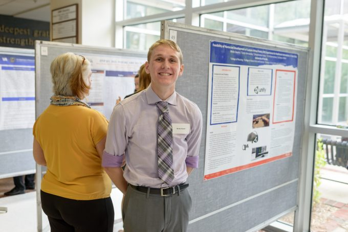 Student Brody Sauers