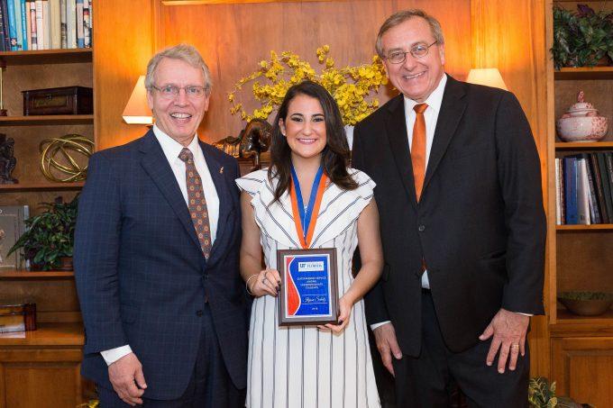 Ilyssa Schatz Presidential Service Awards Ceremony