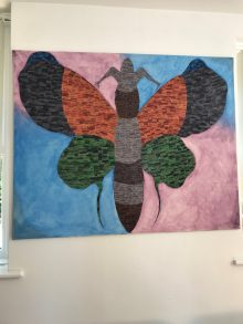 Caludon Centre butterfly