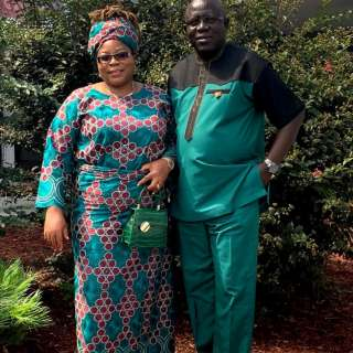 Moses and Beryl Ekakitie
